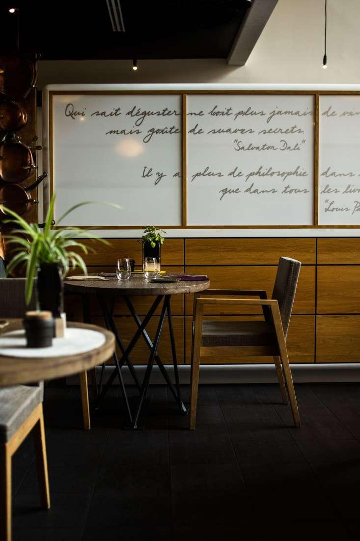 Salle de restaurant Aux Terrasses